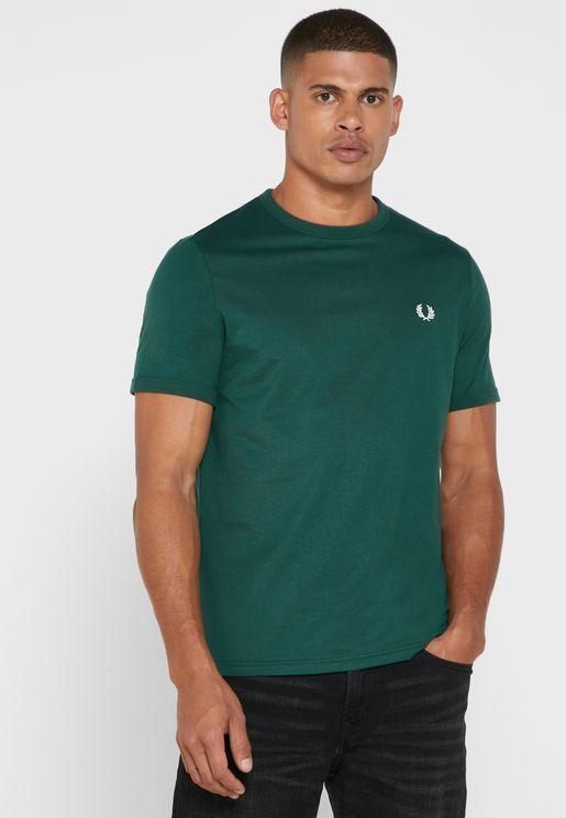 Back Logo Crew Neck T-Shirt