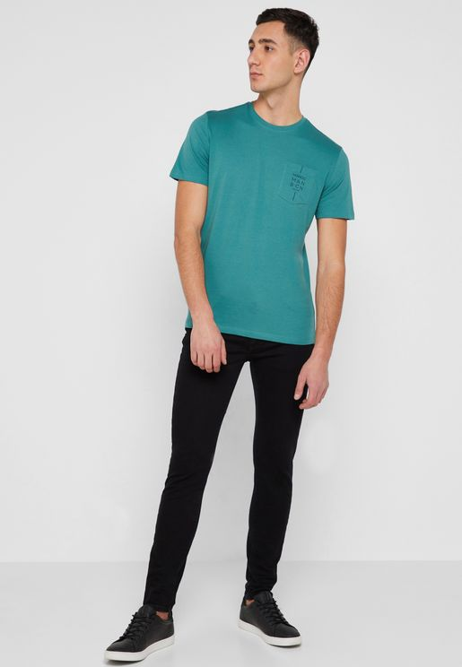 Jude Rinse Wash Skinny Fit Jeans