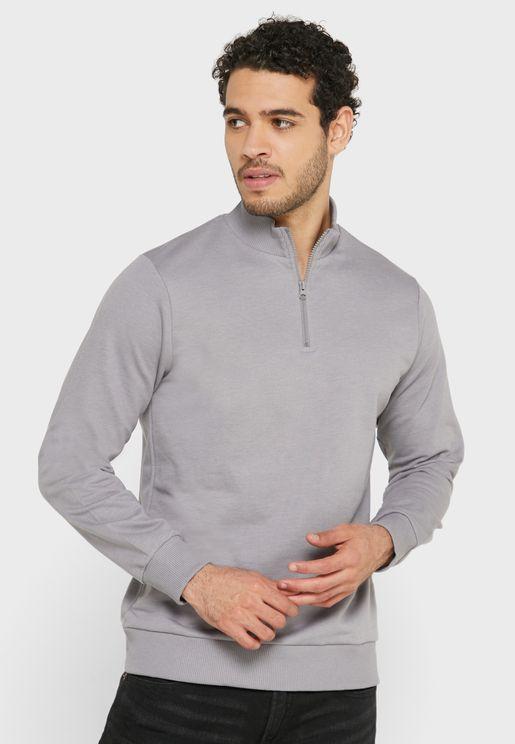 Zip Neck Sweater