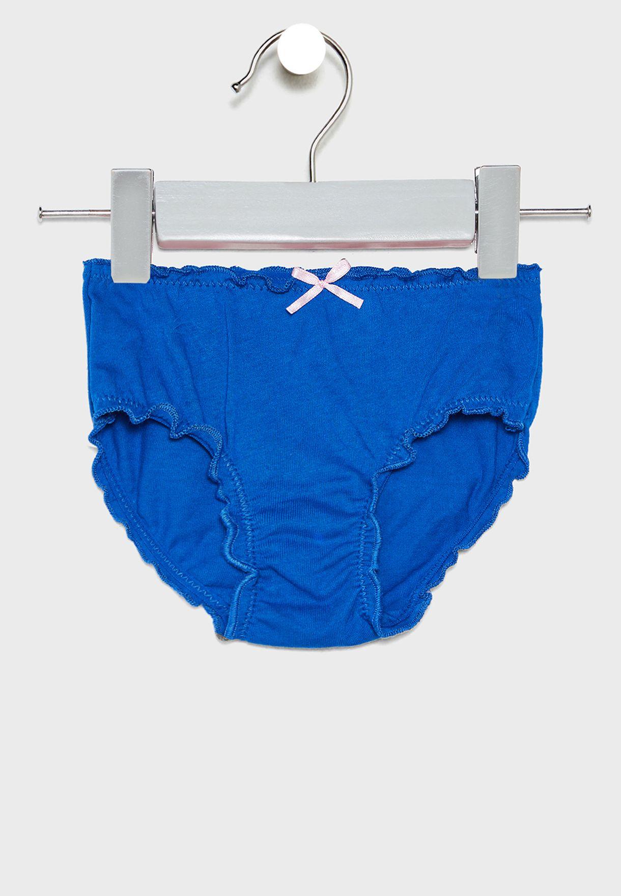 Kids 5 Pack Underwears