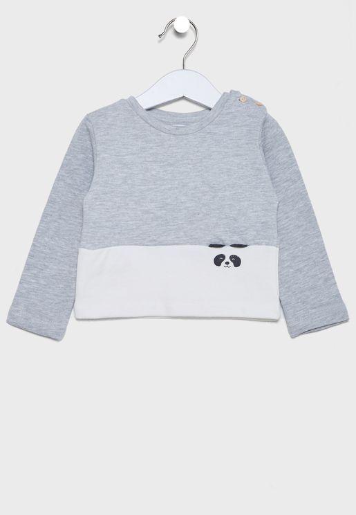 Infant Color Block Sweatshirt