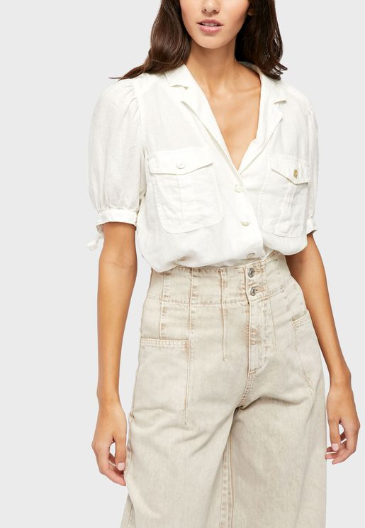 Safari Babe  Button Down Shirt