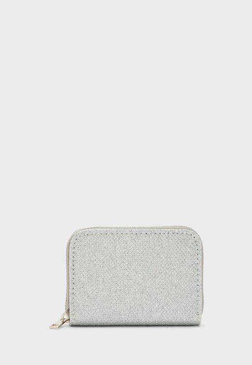 Mesh Zip Around Cardholder