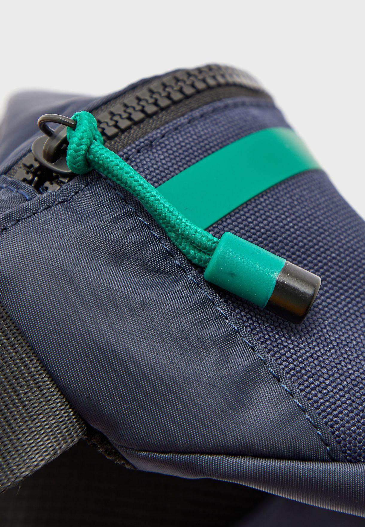 Striped Logo Bum Bag