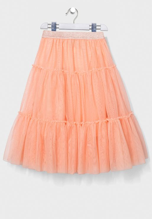 Youth Peach Skirt