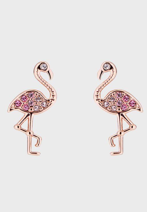 Faei Ombre Flamingo Earrings