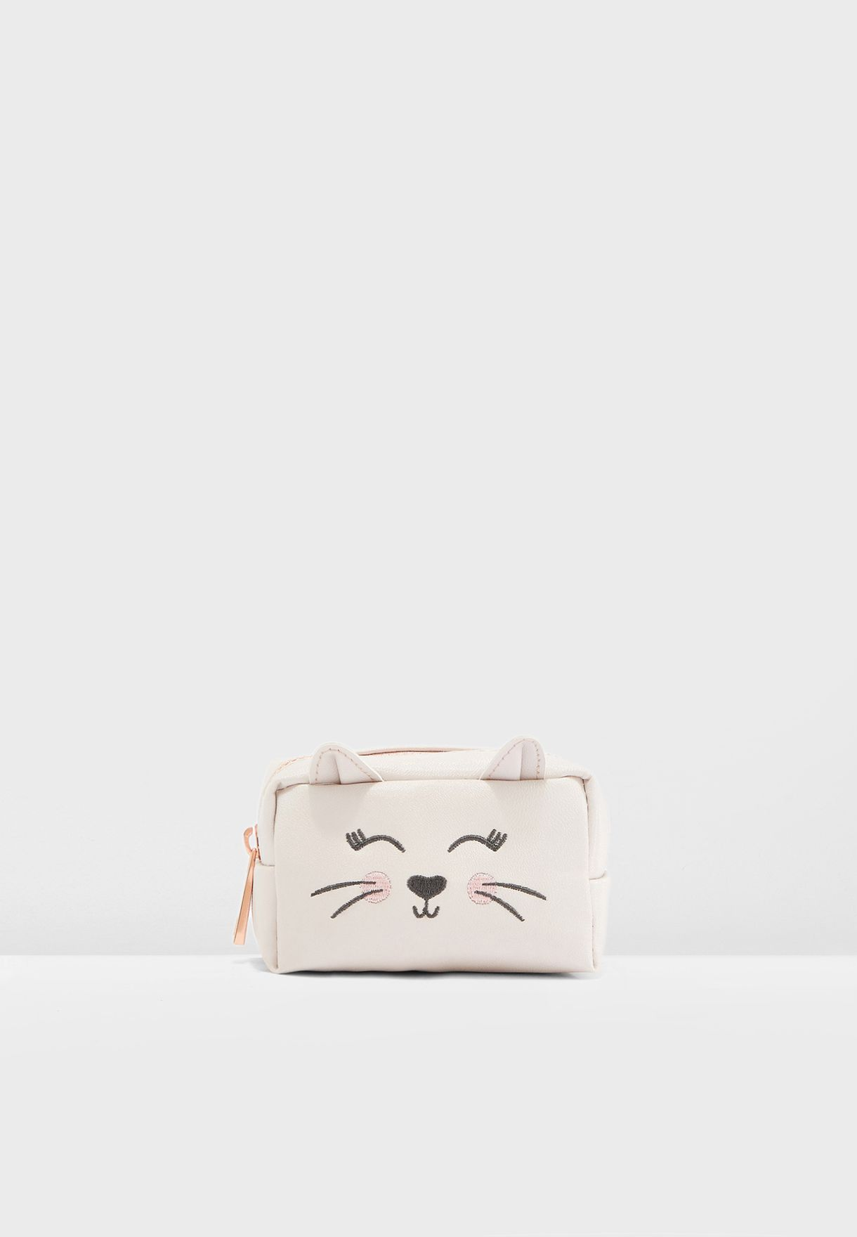 Mini Pink Cat Pouch
