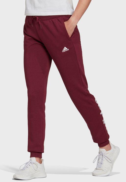 Linear Logo Cuffed Sweatpants