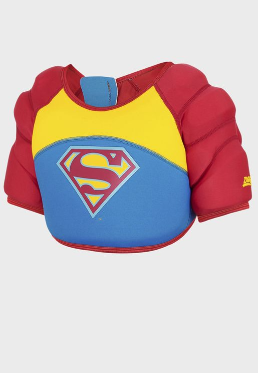 Kids Superman Water Wings Vest