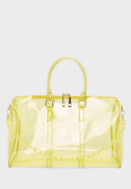 Transparent Detail Shopper