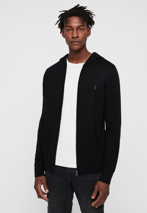 Mode Merino Zip Through Hoodie