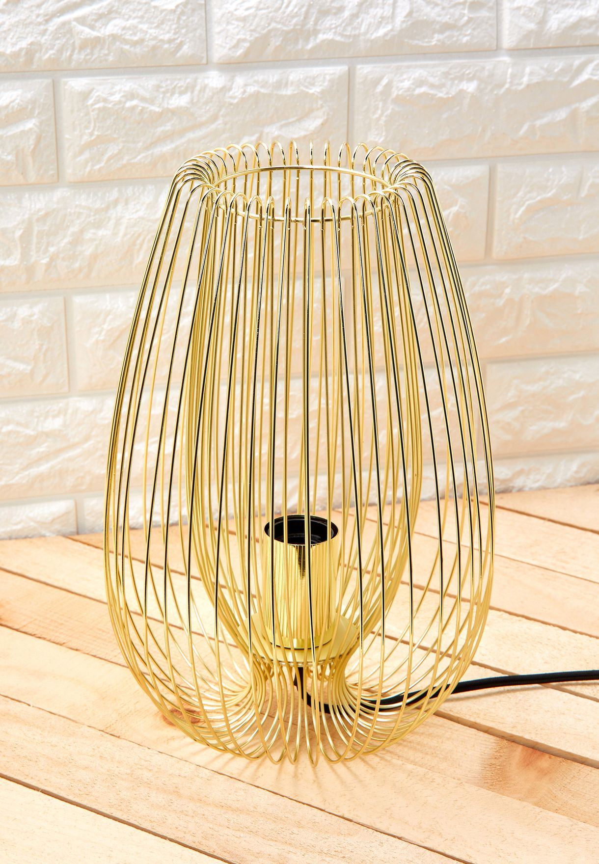 Gold Plated Table Lamp Lucid