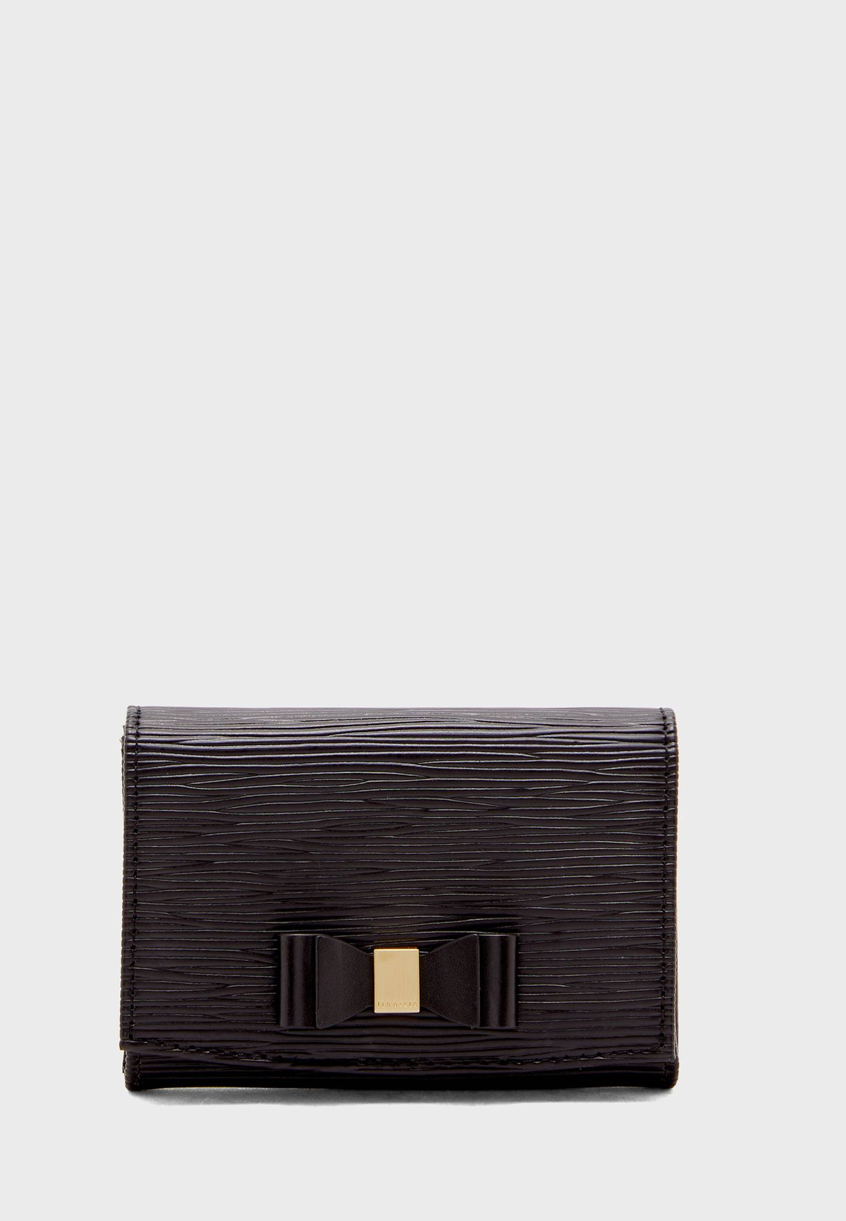 Spriggs Bow Detail Flap Mini Purse