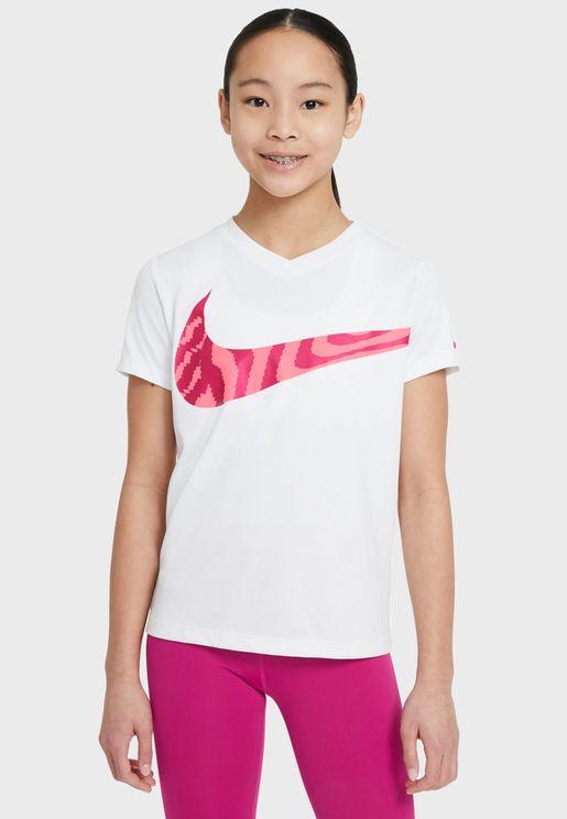 Youth Dri-FIT Swoosh T-Shirt