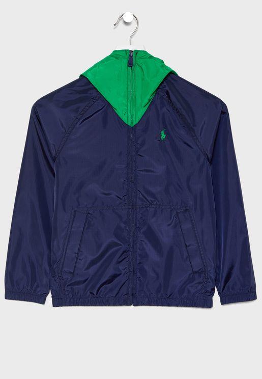Teen Windrunner Jacket