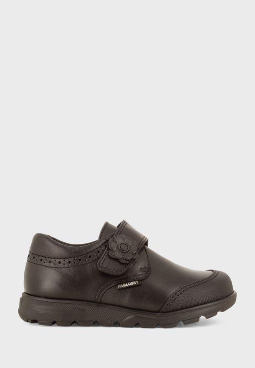 Junior Velcro Low Top Sneaker