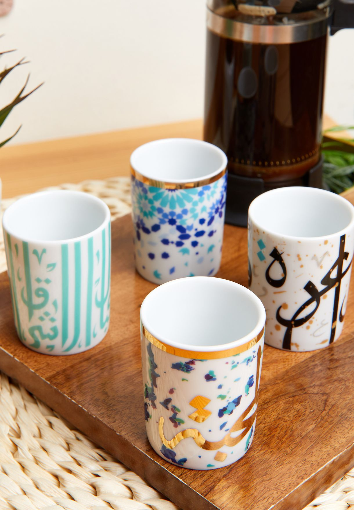 Set of 4 Espresso Cups