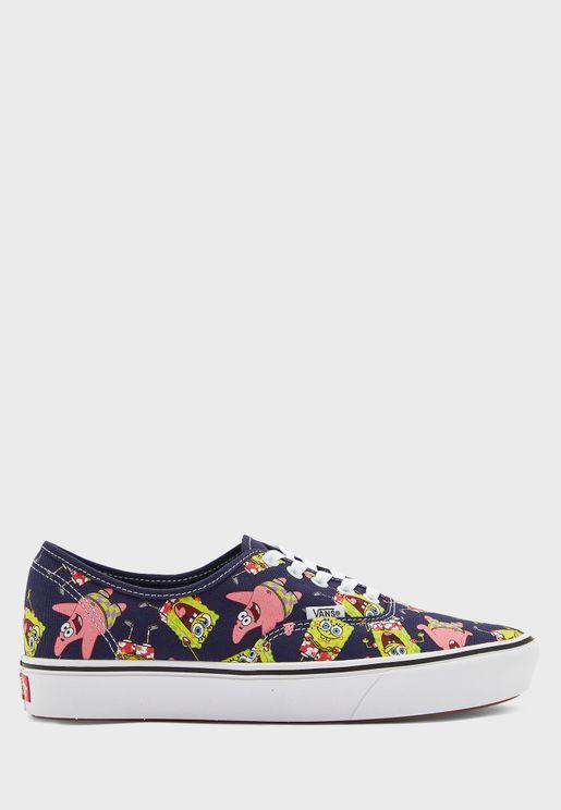 حذاء كومفي كوش من مجموعة سبونج بوب
