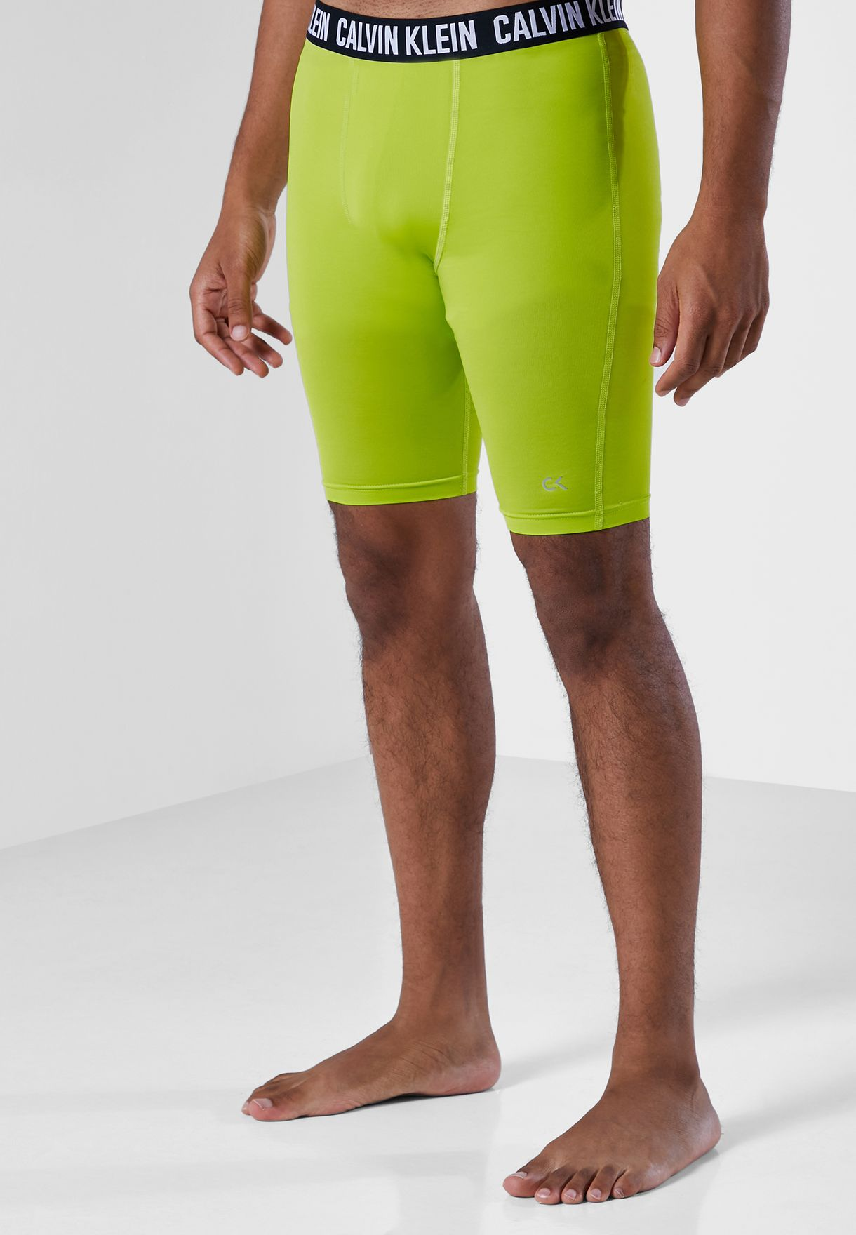 Logo Waist Cycling Shorts