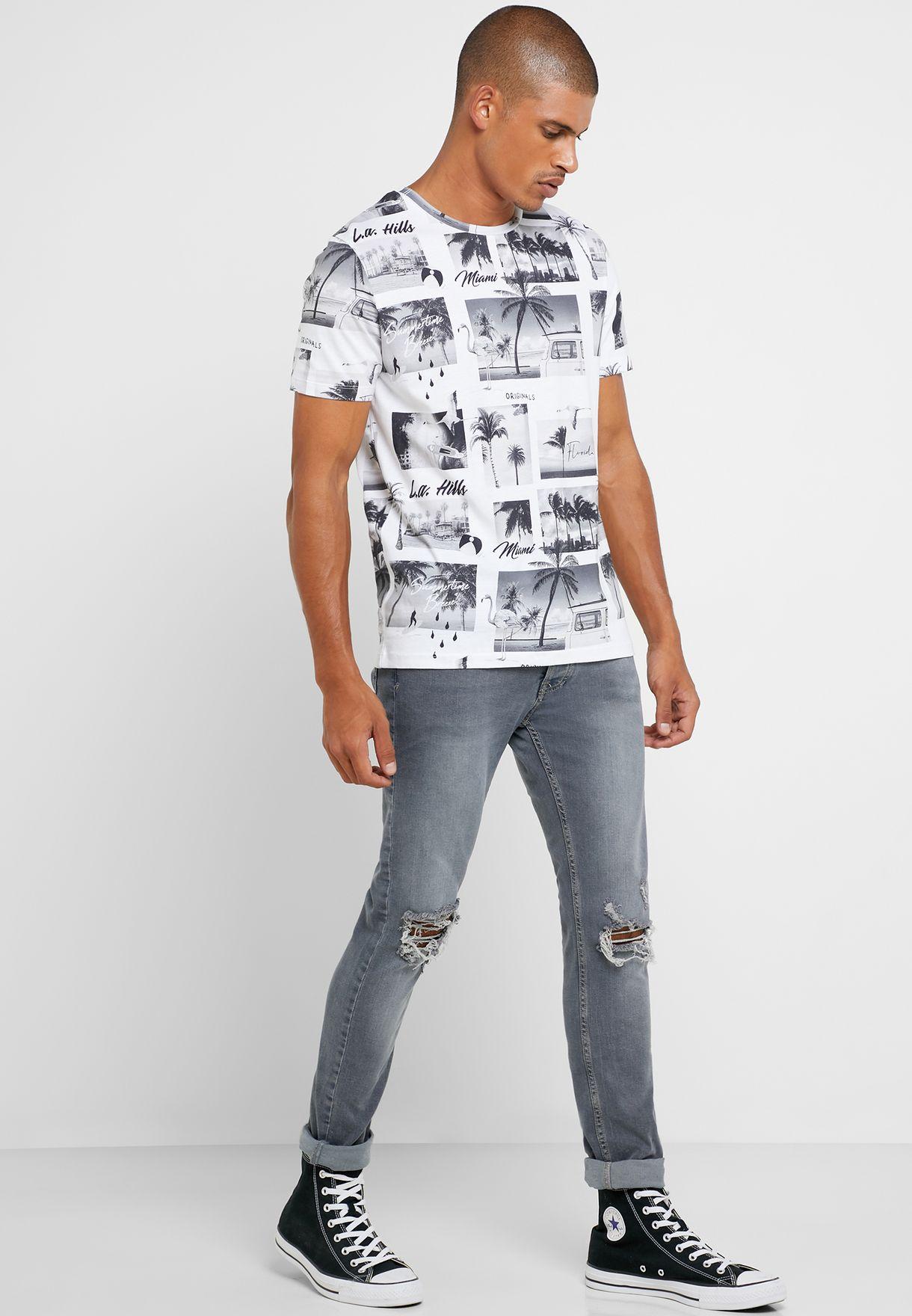 Photobomb Crew Neck T-Shirt