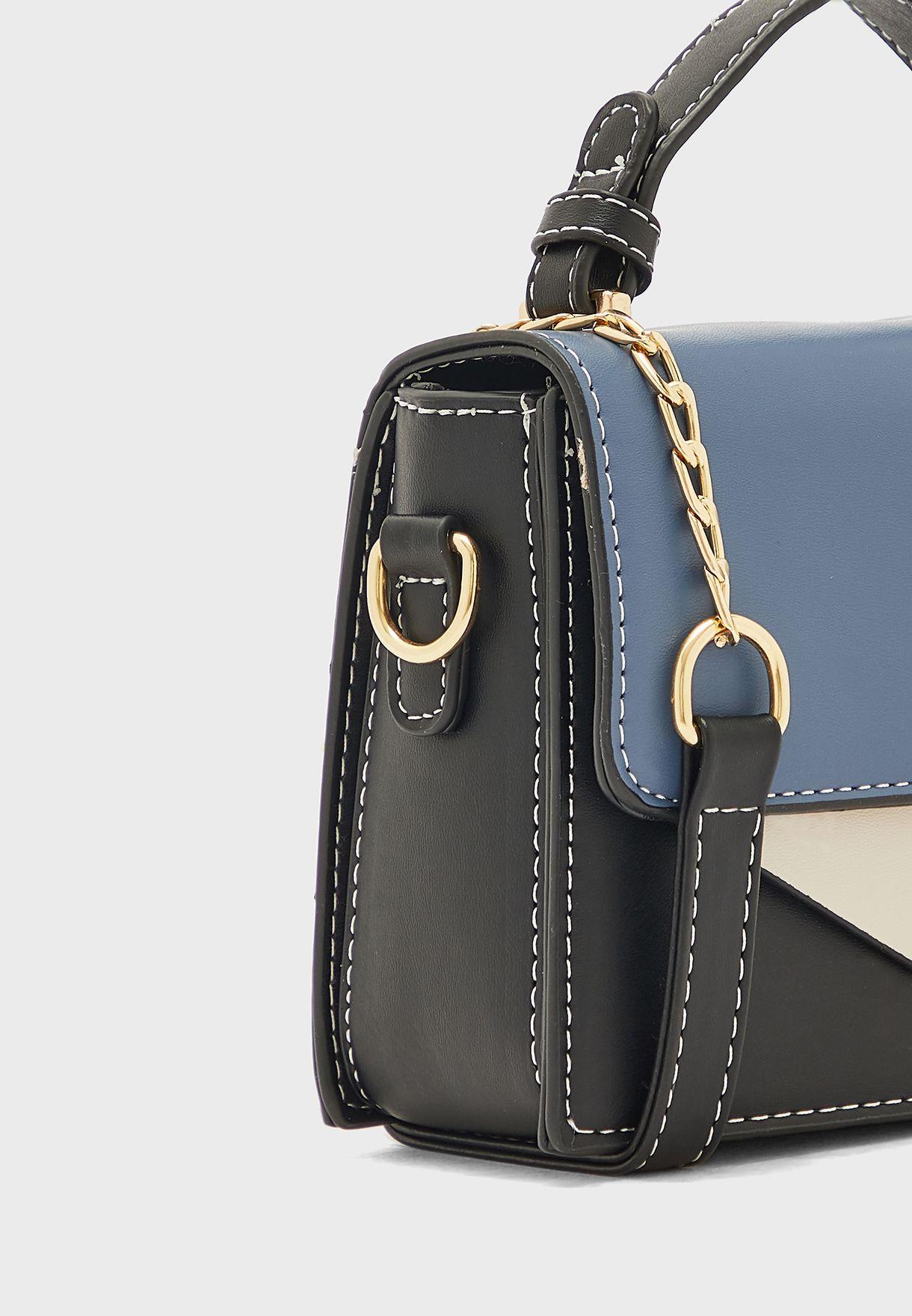 Colour Block Handbag