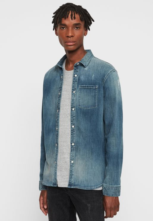 Imcro Regular Fit Denim Shirt