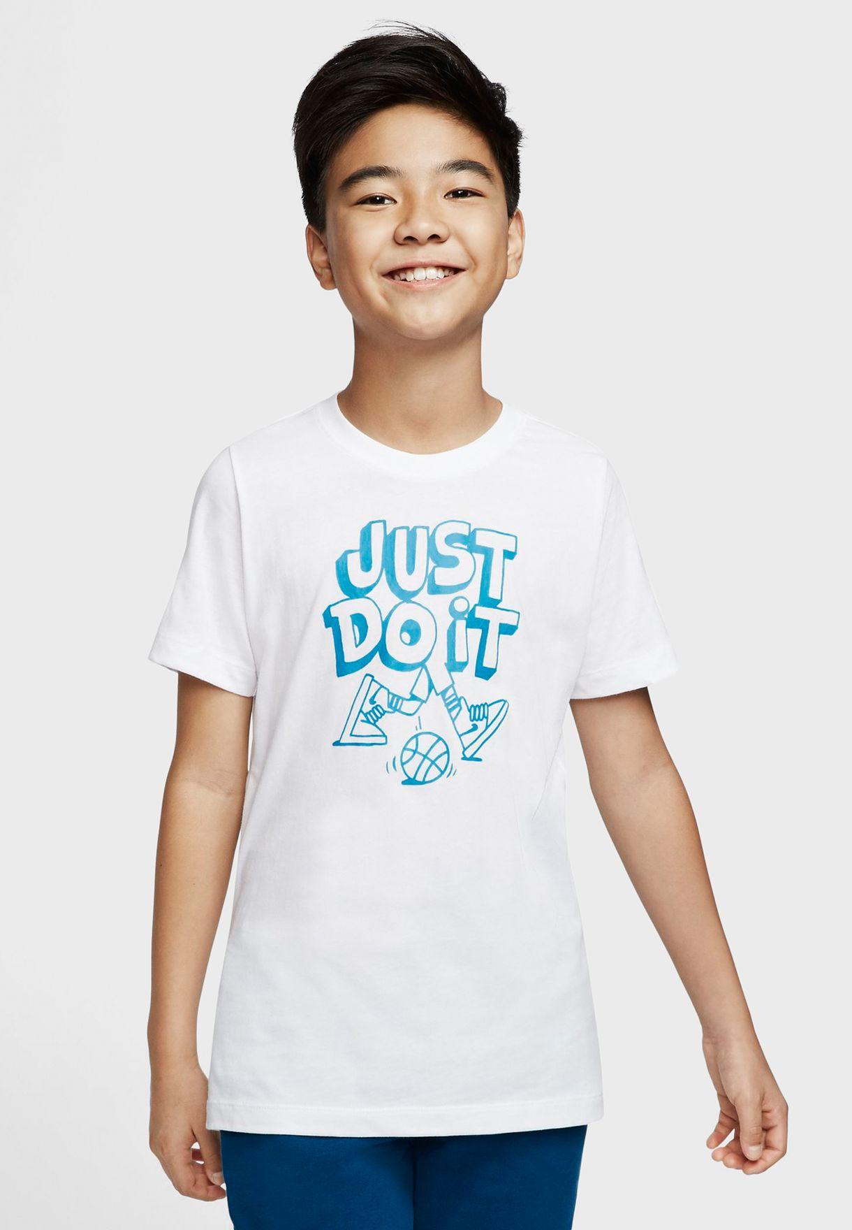 Youth NSW Just Do It Cartoon Legs T-Shirt