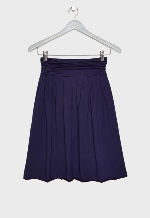 Kids Essential Midi Skirt