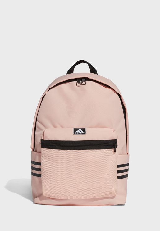Classic 3 Stripe Mesh Backpack