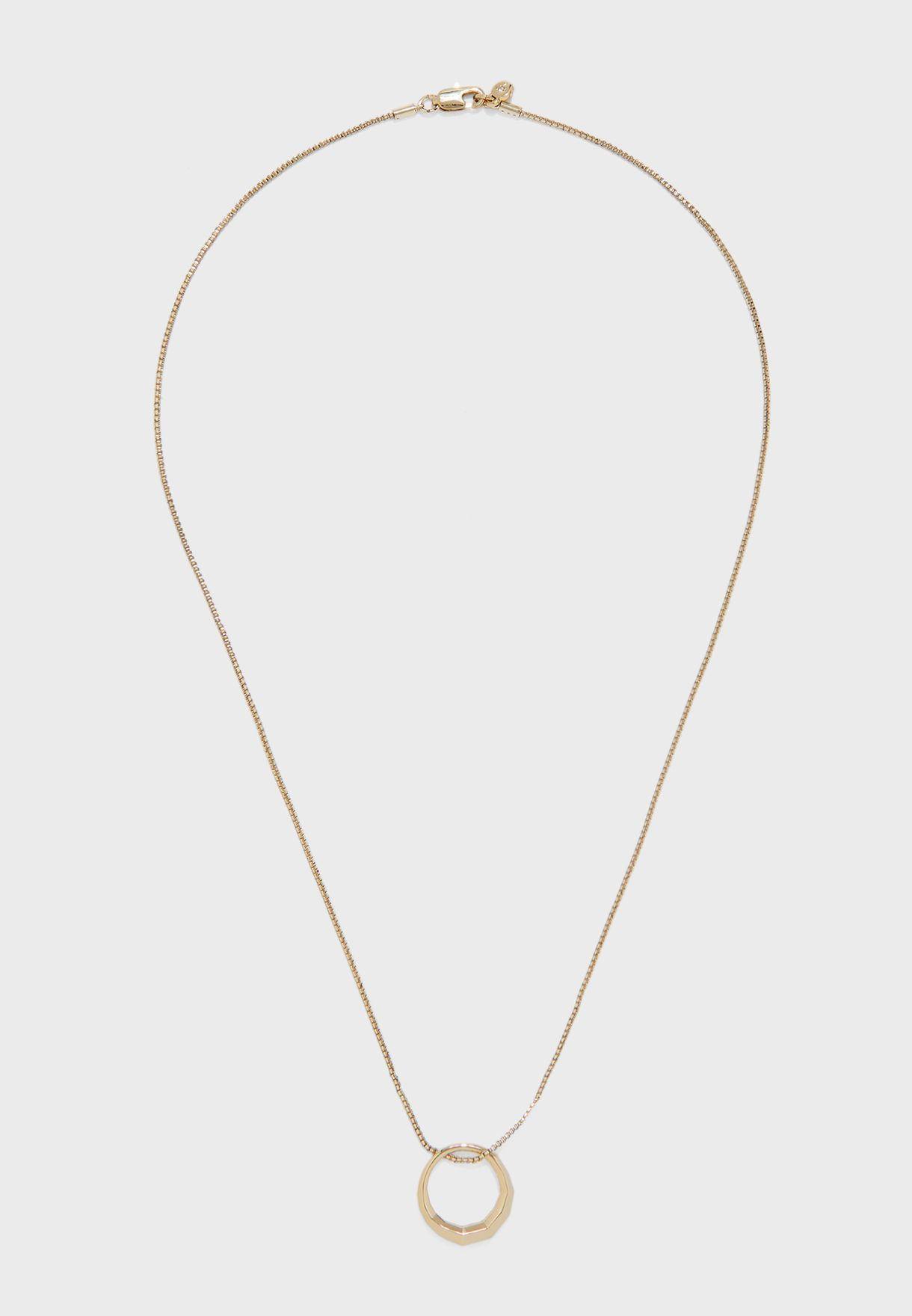 Legacy Loop Pendant Necklace