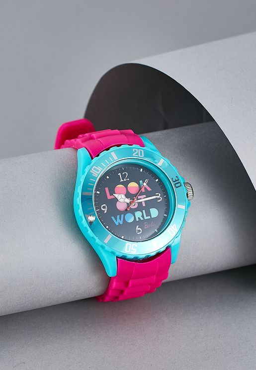 Barbie Analogue Watch In Tin