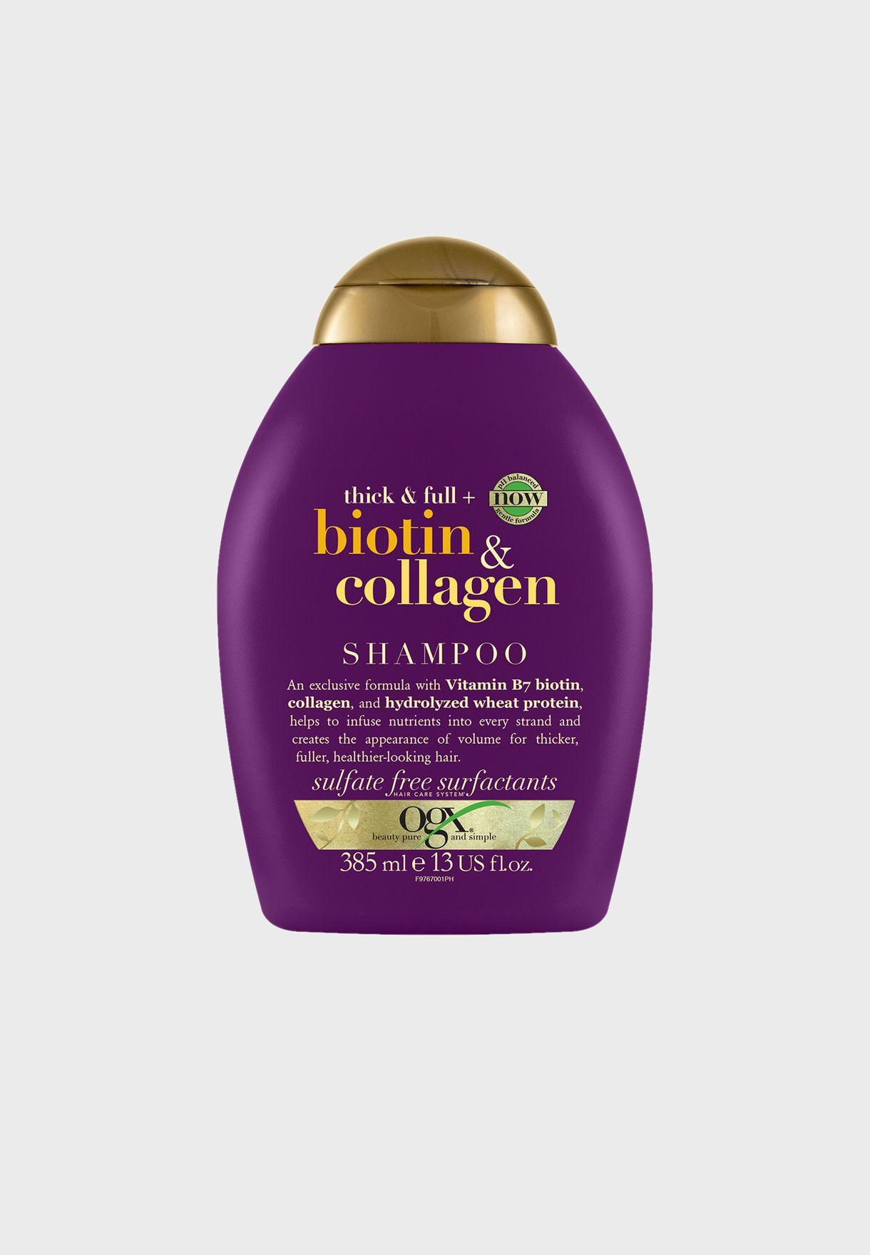 Biotin & Collagen Shampoo 385ml
