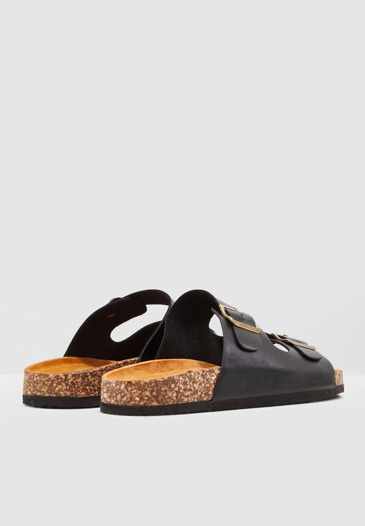 Flossy Footbed Sandal