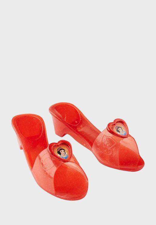 Kids Princess Jelly Shoes Snow White