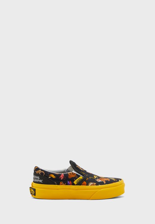 Kids National Geographic Classic Slip Ons