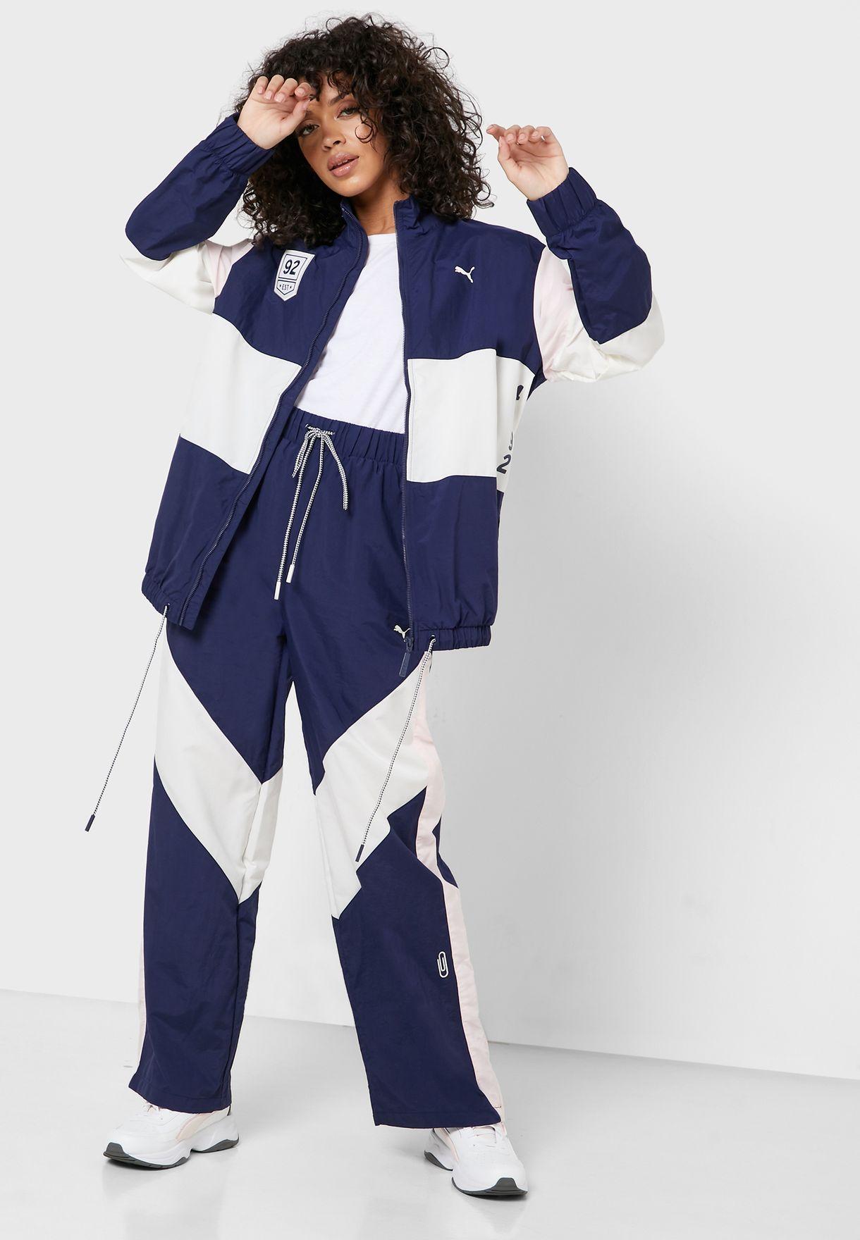 Selena Gomez Colour Block Jacket