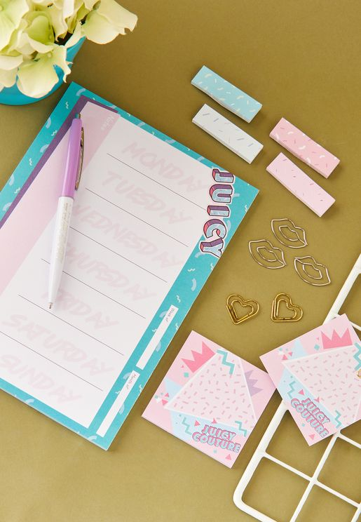 Weekly Planner Stationery Set