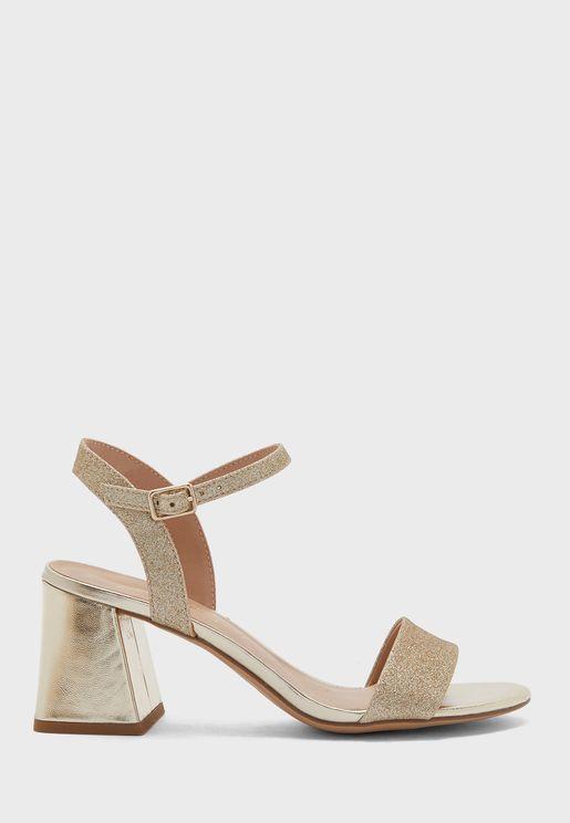 Pan 3 Block Heel Sandal