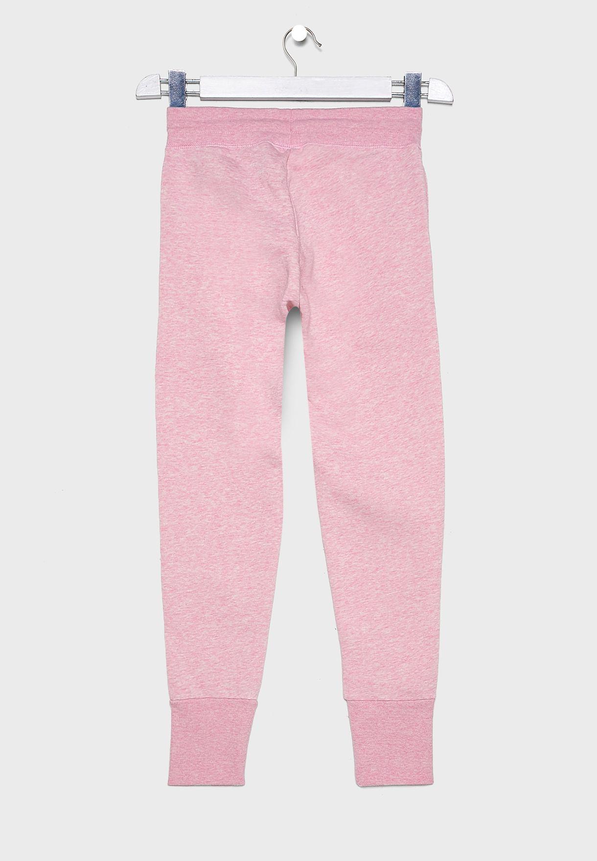 Kids Cuffed Printed Sweatpants