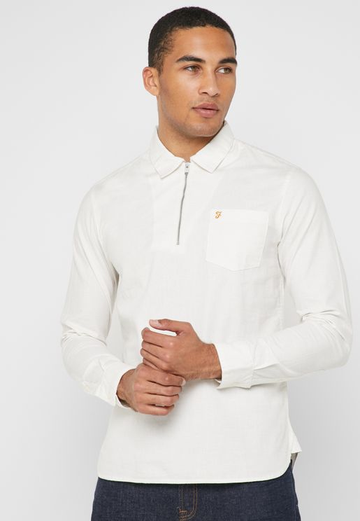 Zip Collar Polo