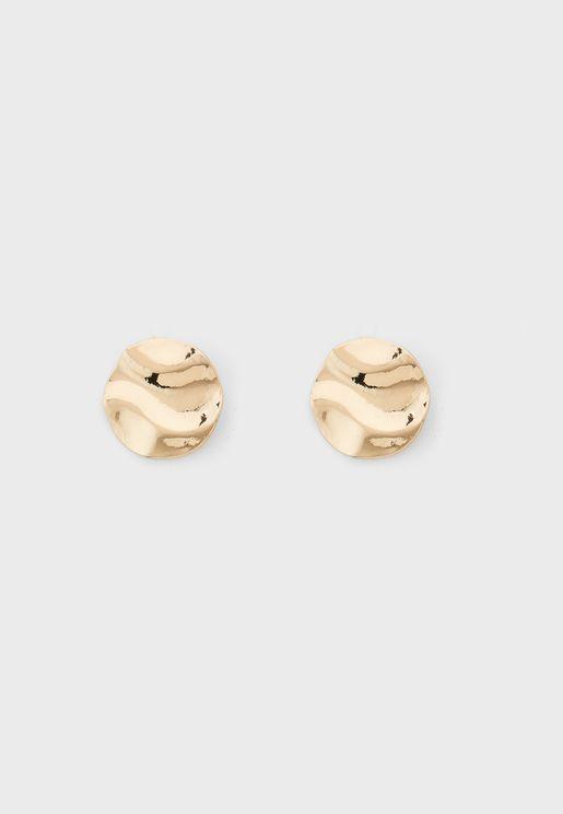 Textured Stud Earrings