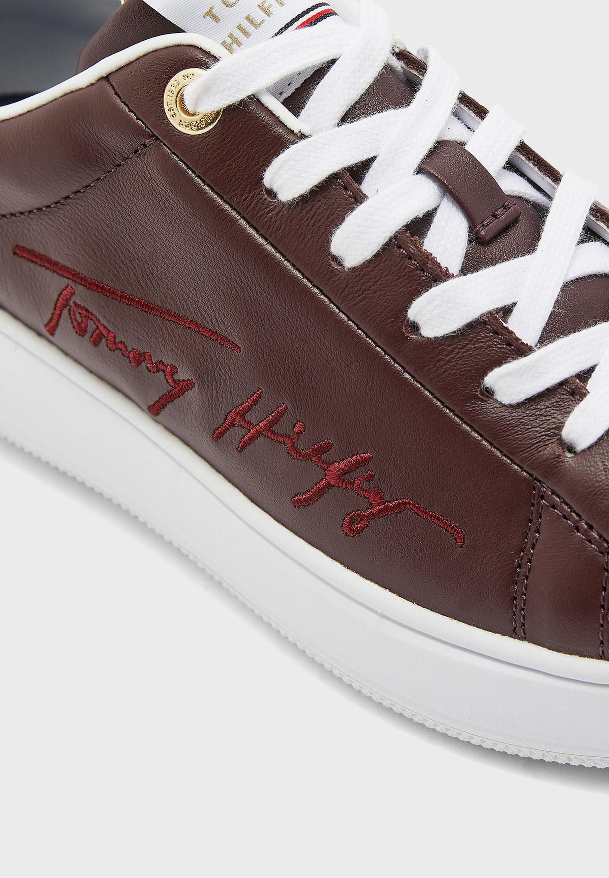 حذاء سنيكرز جلد اصلي