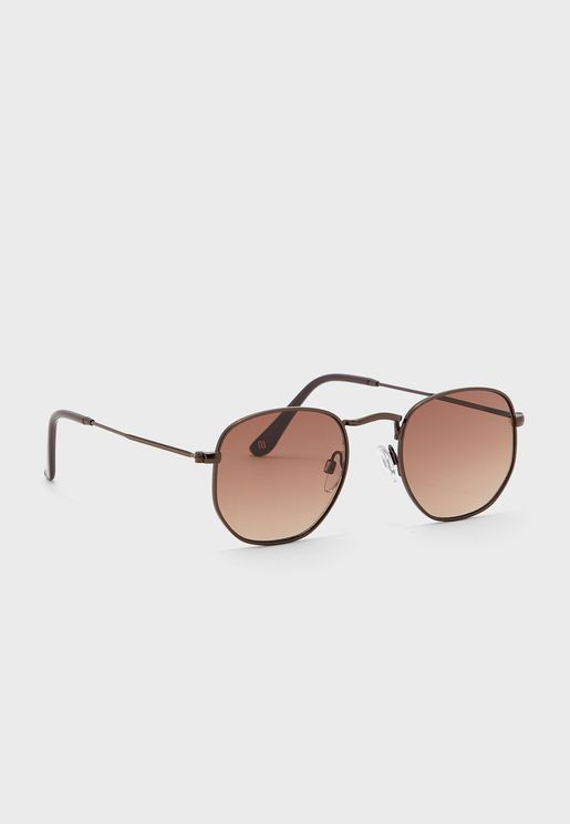 نظارة شمسية بشكل سداسي