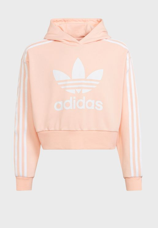 Youth Adicolor Cropped Hoodie