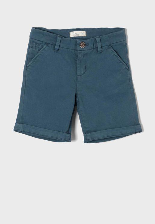 Kids Roll Hem Shorts