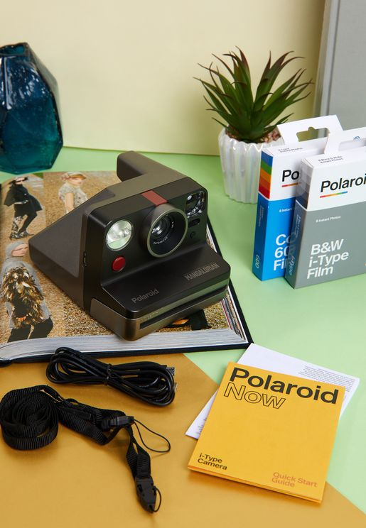 Polaroid Now Instant Camera - Mandalorian Edition