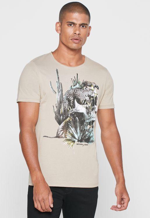 Raf Crew Neck T-Shirt