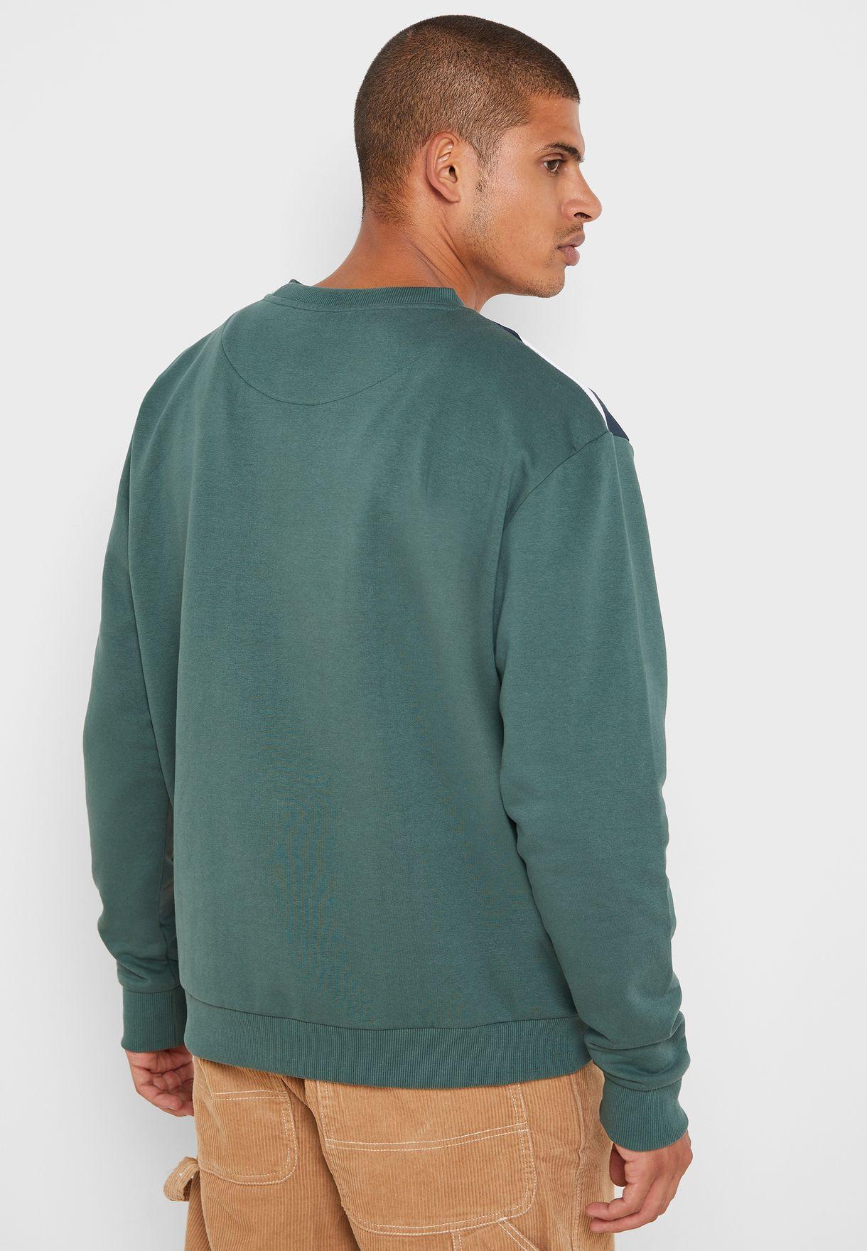 Signature Block Sweatshirt