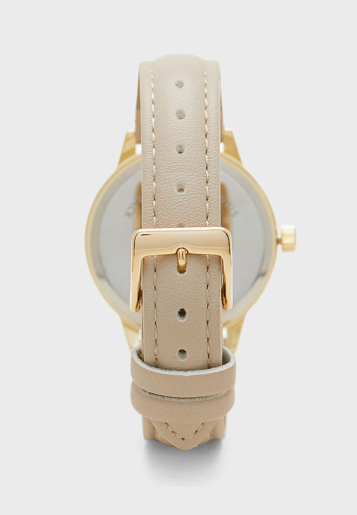 Butterfly Face Analog Watch