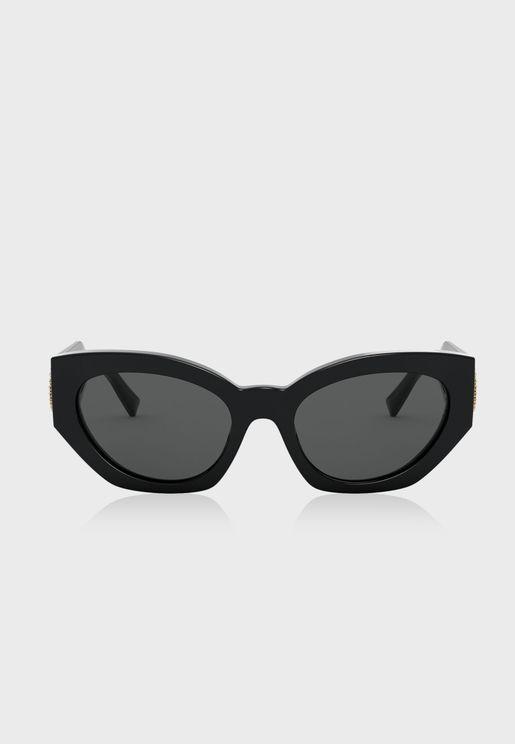 0VE4376B Oval Sunglasses